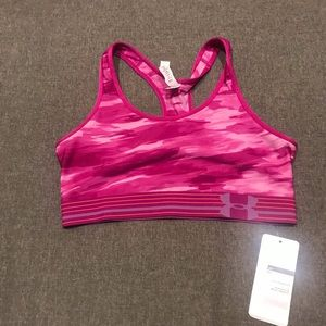 Under Armour midi Impact Support Sports Bra Large